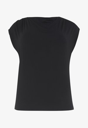 WATERFALL - Basic T-shirt - black