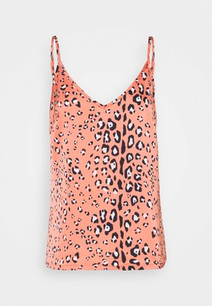 LEOPARD CAMI - Top - orange