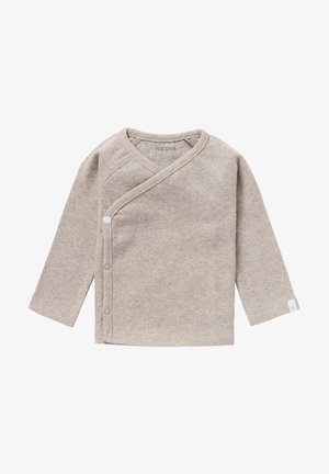 NANYUKI - Long sleeved top - mottled beige