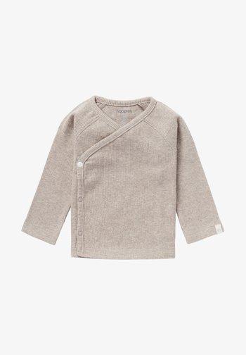 NANYUKI - Long sleeved top - Taupe Melange