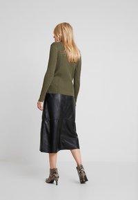 Ibana - FLO - A-line skirt - black - 2