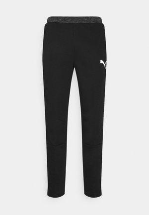 EVOSTRIPE PANTS - Tracksuit bottoms - black