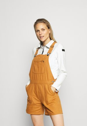 STAND UP OVERALLS - Shorts outdoor - umber brown