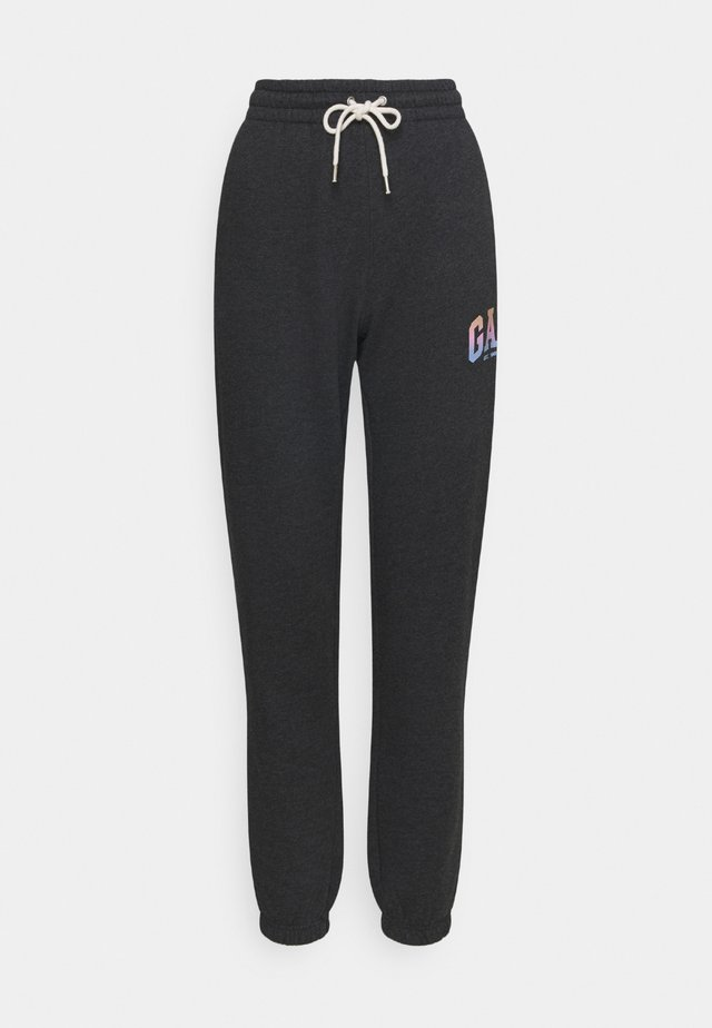 SHINE JOGGER - Pantaloni sportivi - charcoal heather