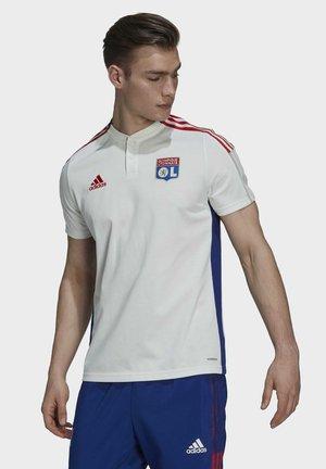 OLYMPIQUE LYON TIRO  - T-shirt con stampa - white