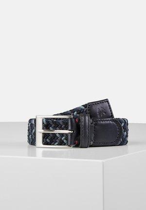Braided belt - dark anthracite