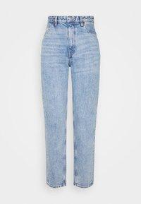 Monki - KYO - Jeans straight leg - blue medium dusty - 4
