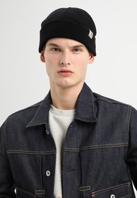 Carhartt WIP - STRATUS HAT LOW - Gorro - black - 1