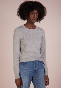 Repeat - CREW NECK CASHMERE - Sweter - light grey - 0