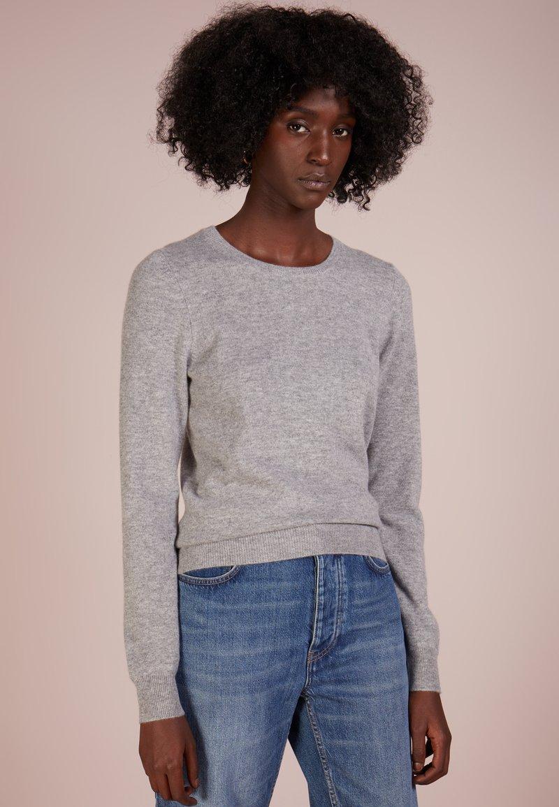 Repeat - CREW NECK CASHMERE - Sweter - light grey