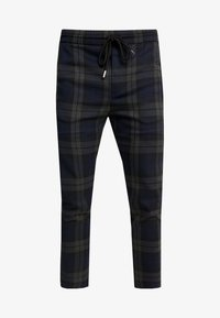 Only & Sons - ONSLINUS CHECK PANT - Pantaloni - dark navy - 4