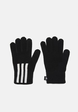 GLOVES UNISEX - Gloves - black/white