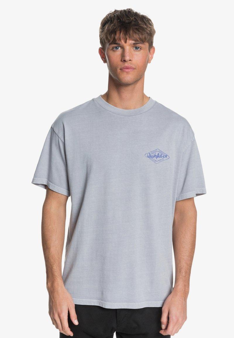 Quiksilver - HARMONY HALL  - Print T-shirt - lilac gray