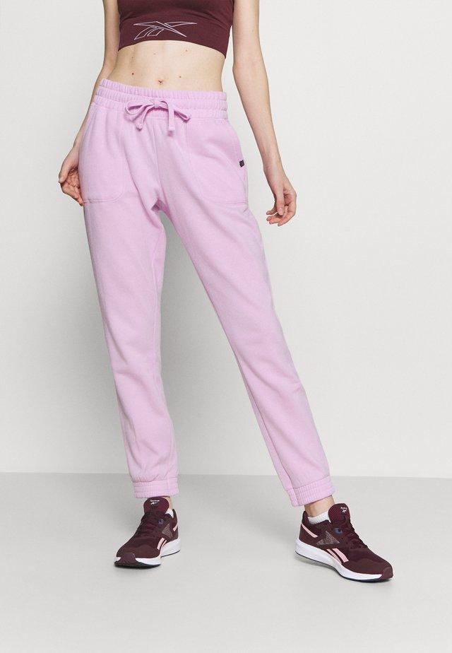 GYM TRACK PANTS - Pantalon de survêtement - blossom marle
