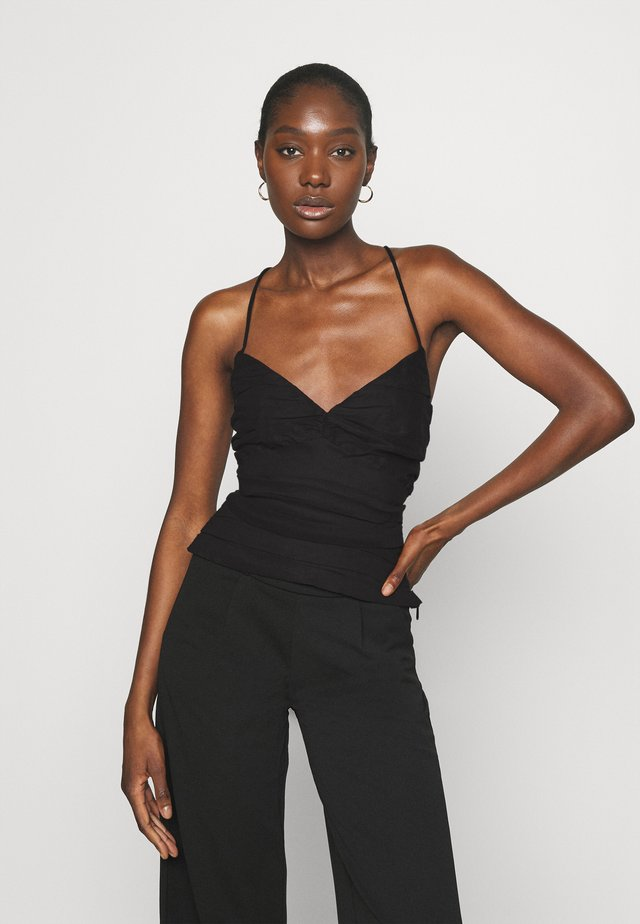 THE RUNNING BACK - Top - black