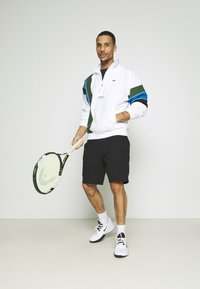 Lacoste Sport - BH1511 - Training jacket - white/navy blue/utramarine/green - 1