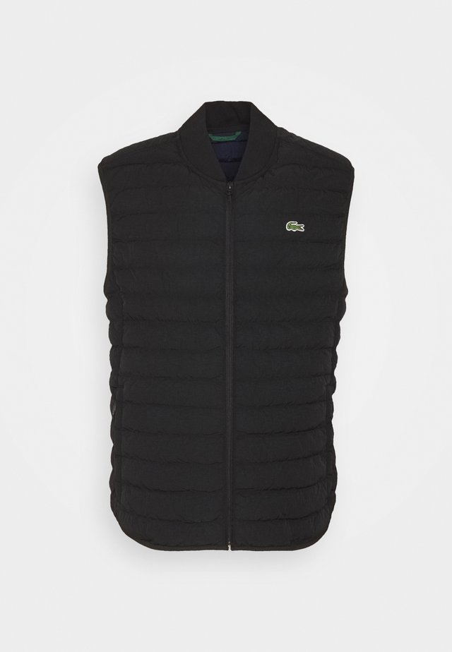 PLUS - Waistcoat - black
