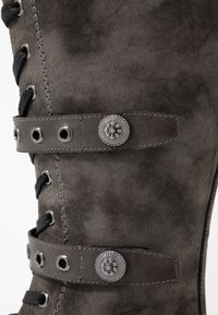 Anna Field - Lace-up boots - dark grey - 2