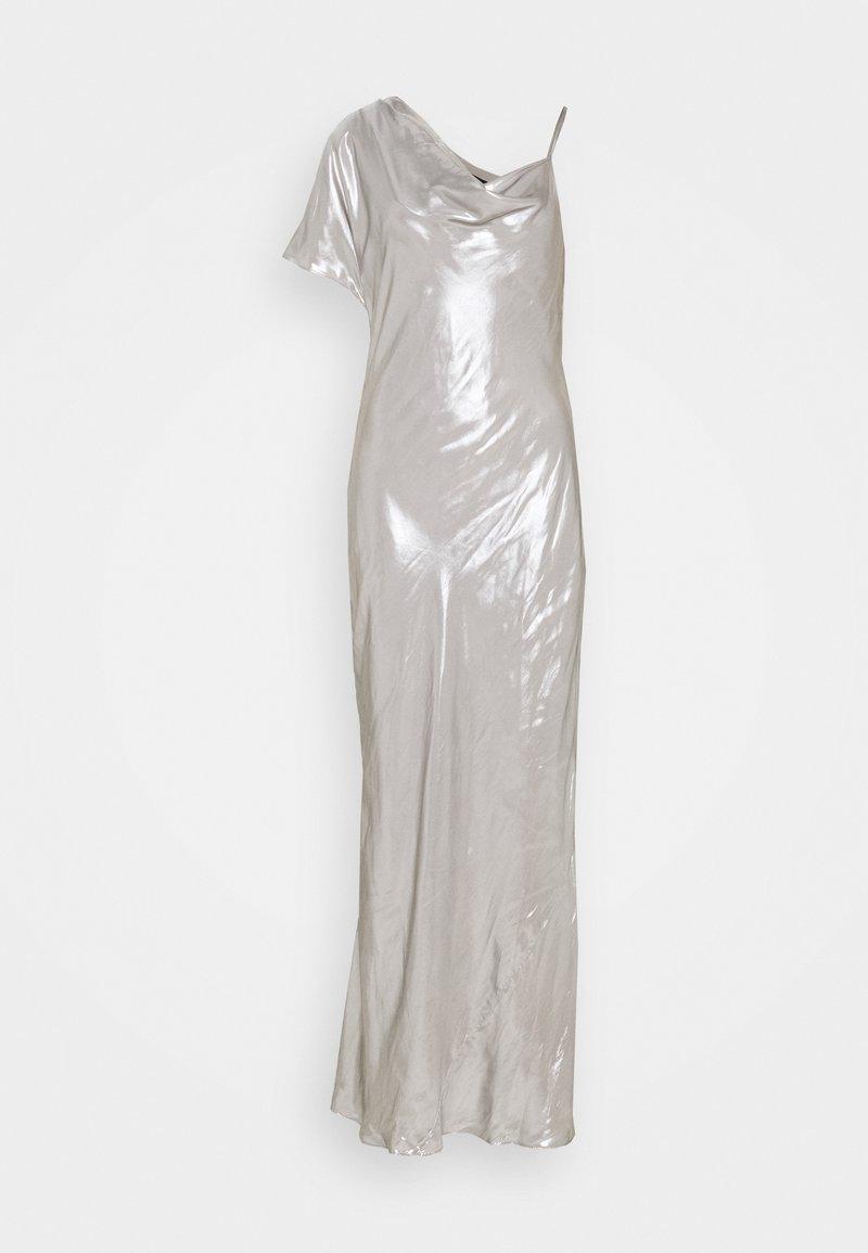 BCBGMAXAZRIA - EVE LONG DRESS - Galajurk - silver