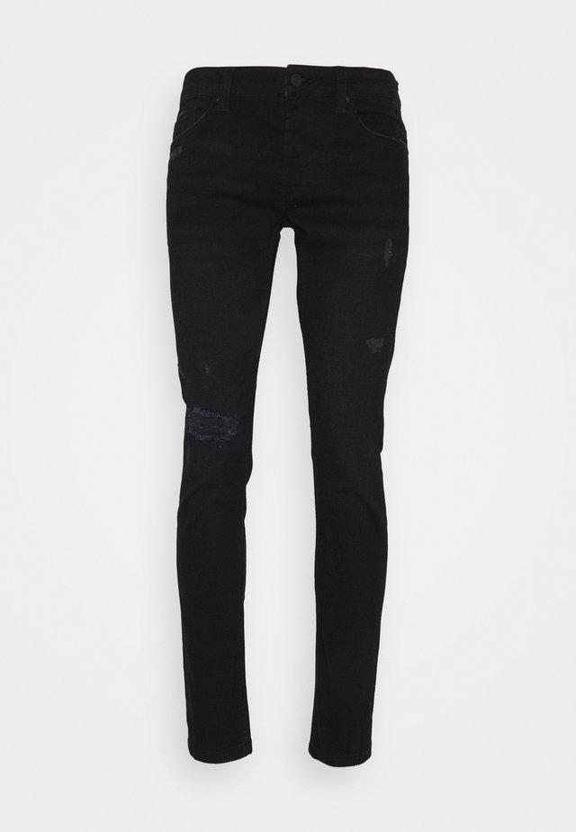 ONSLOOM LIFE   - Slim fit jeans - black denim