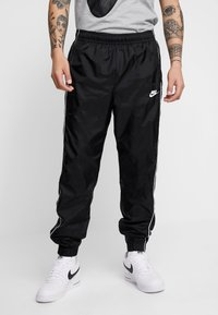 Nike Sportswear - SUIT BASIC - Tracksuit - black/white - 4