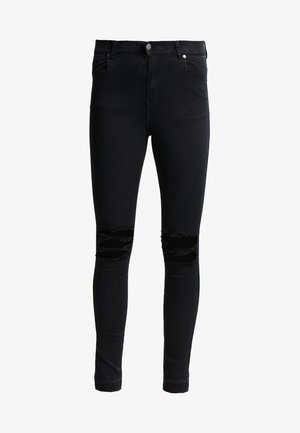 LEXY - Jeans Skinny Fit - wrecking black
