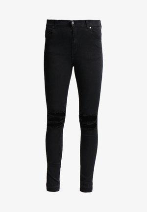 LEXY - Skinny džíny - wrecking black