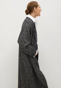 Mango - BONE - Classic coat - schwarz - 5