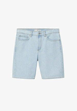 Denim shorts - lys blå