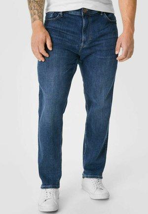 Slim fit jeans - denimblue