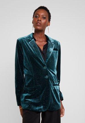 OLIVECR - Krátký kabát - deep green