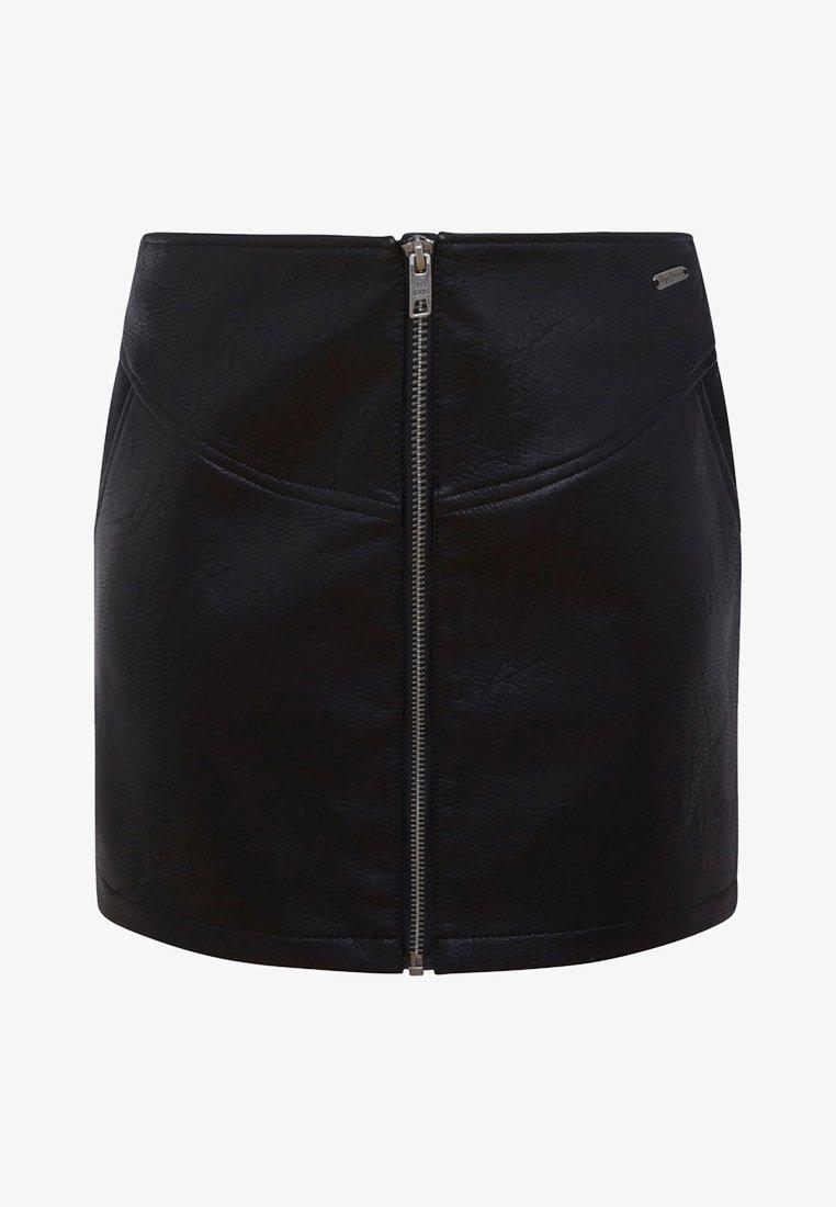 Pepe Jeans - SAMANTHA - Mini skirt - black