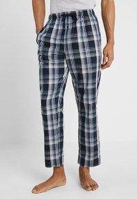 Schiesser - BASIC - Pyjama bottoms - dark blue - 0