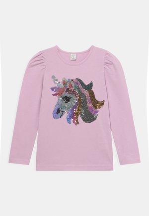 UNICORN FLIP SEQUINS - Långärmad tröja - dusty pink