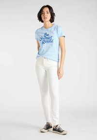 Lee - SCARLETT - Jeansy Skinny Fit - off-whit - 1