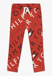 Tommy Hilfiger - SPORTS PRINTED LOGO  - Tracksuit bottoms - red - 0