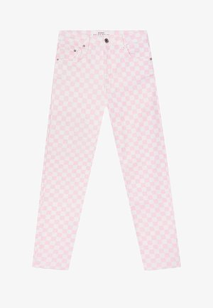 MOM - Džíny Slim Fit - light pink