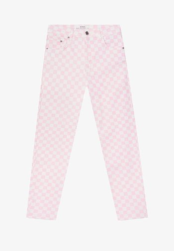 MOM - Slim fit -farkut - light pink