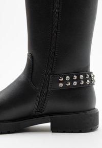 Gioseppo - Kovbojské/motorkářské boty - black - 5