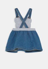 MOSCHINO - SKIRT ADDITION - Denim dress - blue astral - 1