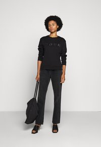 HUGO - NICCI - Long sleeved top - black/silver - 5