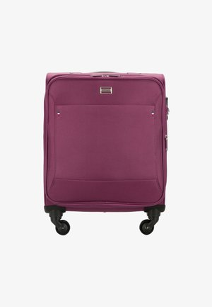 TRAVEL - Wheeled suitcase - violett