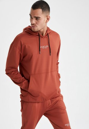 OVERSIZED - Luvtröja - orange