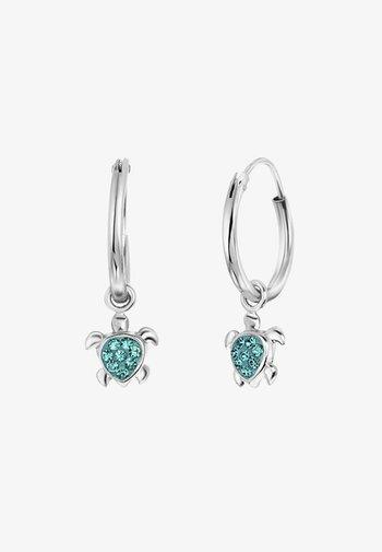 Earrings - blauw