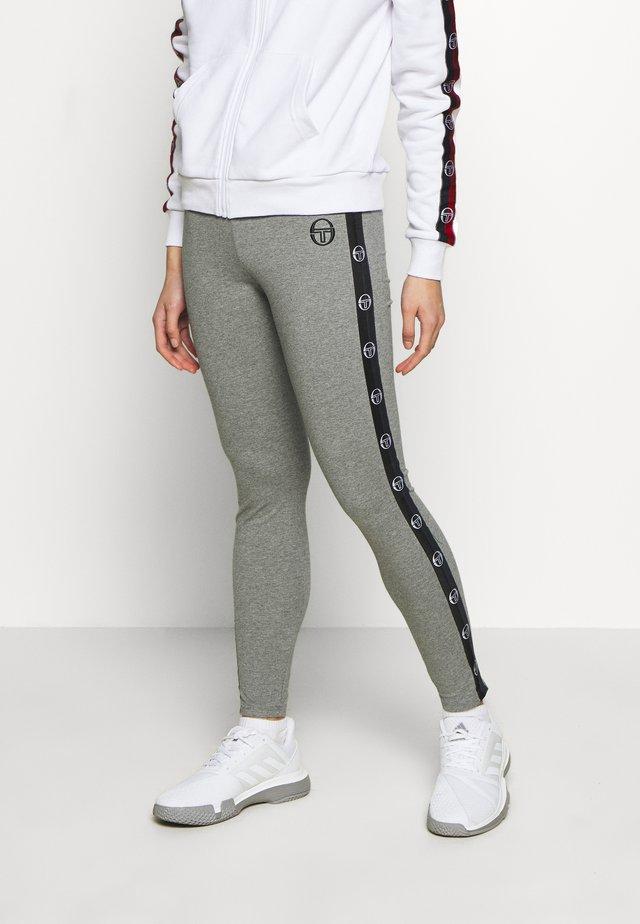 FIAMMA LEGGINGS - Trikoot - grey melange/black