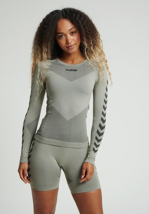 FIRST SEAMLESS WOMAN - Long sleeved top - london fog