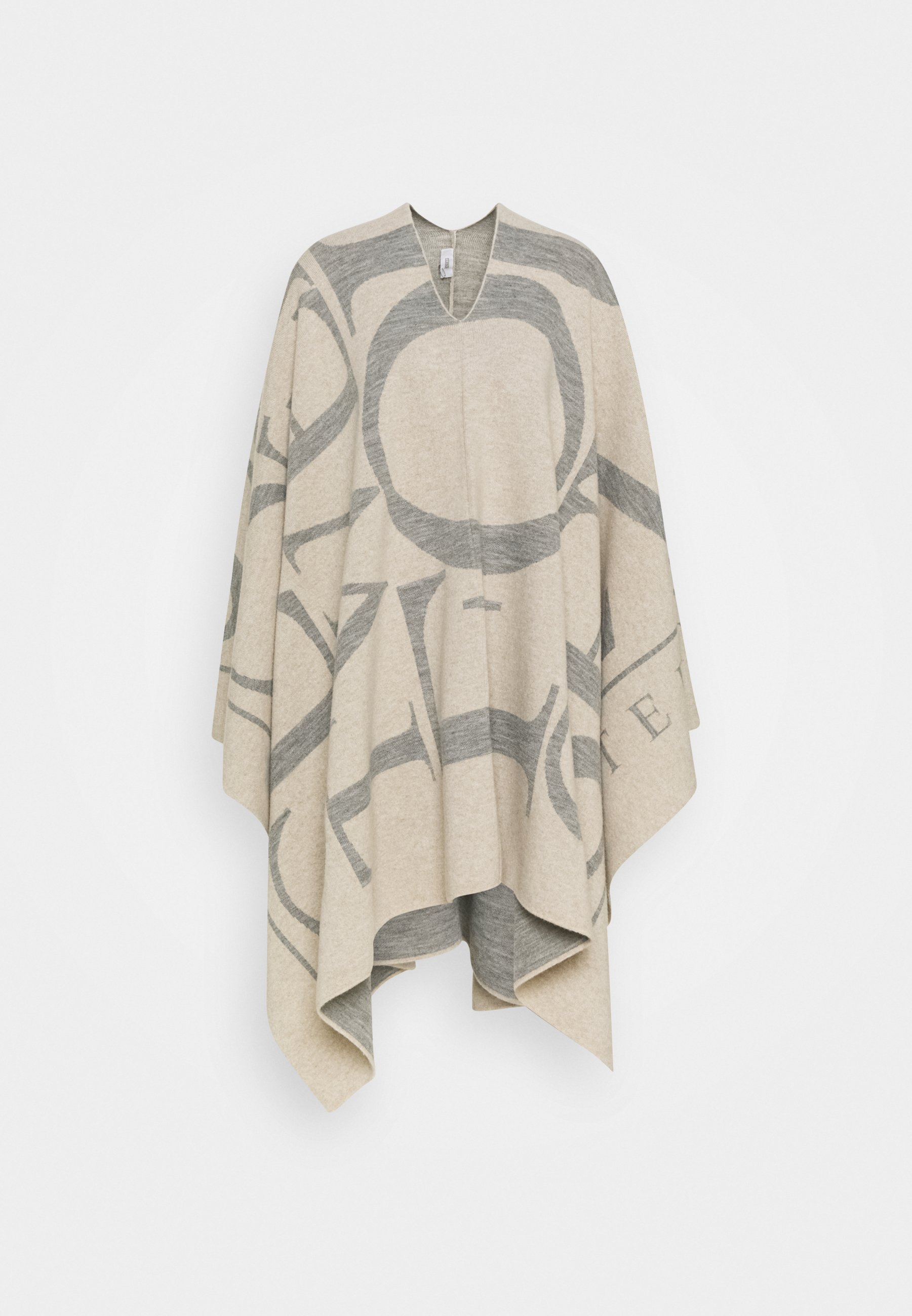 Women KNITTED PONCHO - Cape