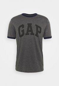 GAP - LOGO RINGER - Print T-shirt - charcoal grey - 3
