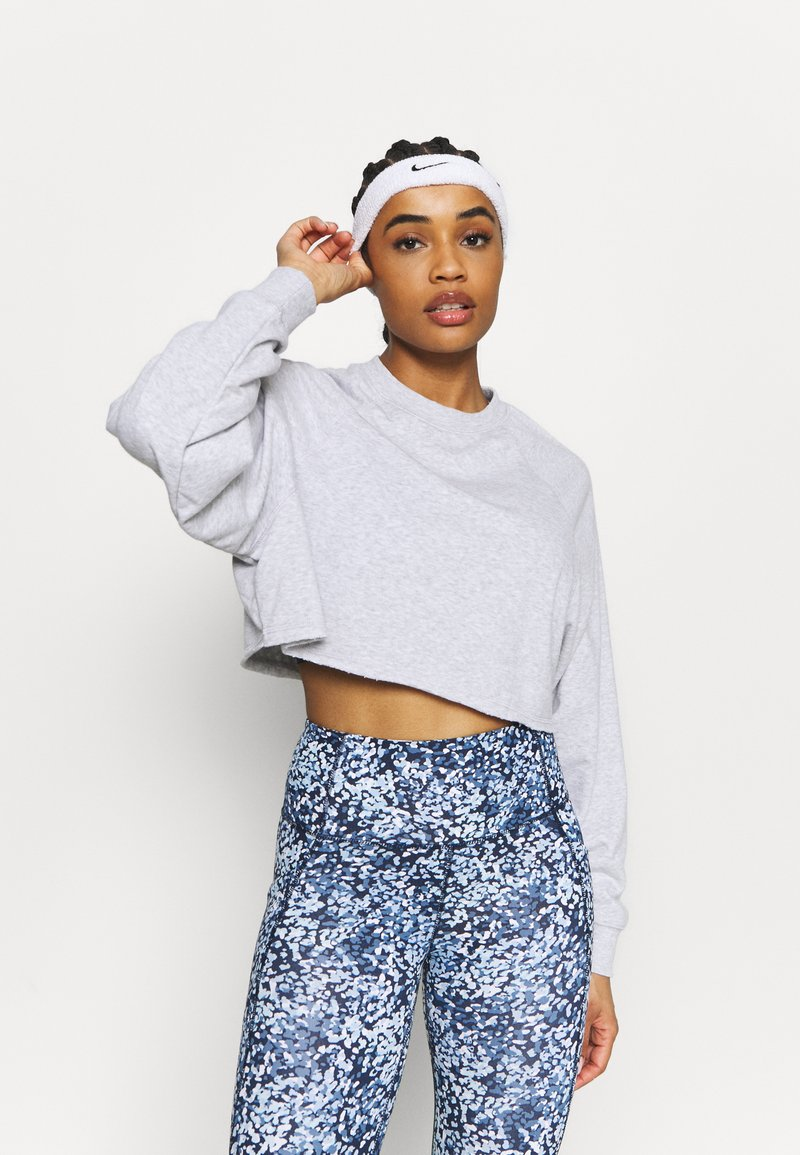 Cotton On Body - LIFESTYLE CROP RAGLAN  - Sweatshirt - grey marle