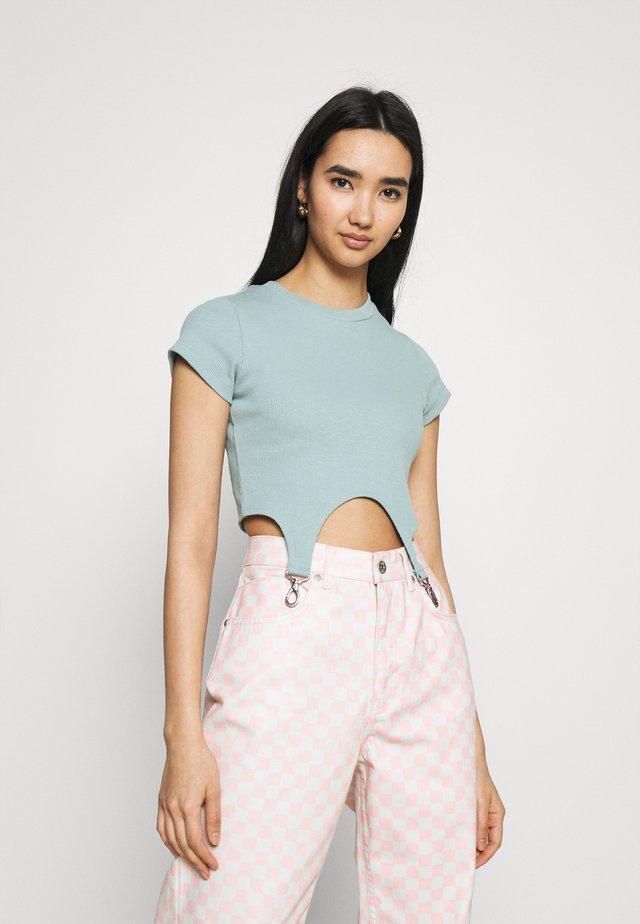 CLONE - Print T-shirt - blue